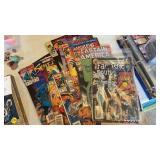 MARVEL, DC COMIC BOOKS