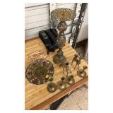 CANDLE HOLDERS, CLOTHES PINS
