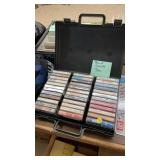 CASE OF CASSETTE TAPES