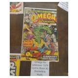 OMEGA THE UNKNOWN 1976 COMIC BOOK