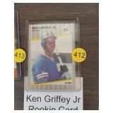 KEN GRIFFEY JR ROOKIE BASEBALL CARD