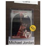 MICHEAL JORDAN 90 HOOPS BASKETBALL CARD