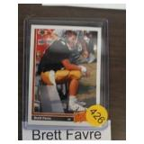 BRETT FAVRE ROOKIE FOOTBALL CARD
