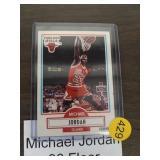 MICHAEL JORDAN 90 FLEER BASKETBALL CARD