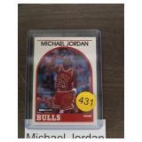 MICHAEL JORDAN 89 HOOPS BASKETBALL CARD