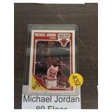 MICHAEL JORDAN 89 FLEER BASKETBALL CARD