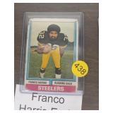 FRANCO HARRIS EARLY 70