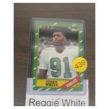 REGGIE WHITE ROOKIE FOOTBALL CARD