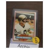 ARCHIE MANNING EARLY 80