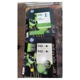 TWO PACKS OF HP XL INK CARTRIDGES