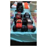 4 TOY CARS