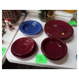 LOT OF FIESTA DISHES