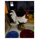 """CERAMIC ROOSTER- APPROX 18"""" TALL"""