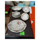 LOT OF DISHES- GERMANY AND ENGLAND