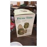 PICNIC TIME WINE & CHEESE TOTE