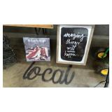 AMAZING THINGS PRINT, THE WHO CANVAS, LOCAL DECOR