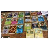 20 POKÉMON CARDS - HOLOGRAM AND PIKACHU