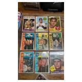 9 BASEBALL CARDS FROM 1960s - TONY LARUSSA ROOKIE