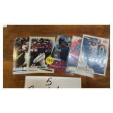 5 RONALD ACUÑA JR CARDS