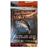 LAKE OKEECHOBEE FISH METAL SIGN