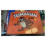 TASMANIAN DEVIL METAL SIGN