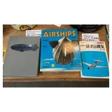 GOODYEAR BOOK, AIRSHIPS BOOK, JAPANESE PLANE BOOK