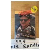 1994 DALE EARNHARDT WINSTON CUP CARD