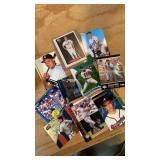 NINE CHIPPER JONES CARDS