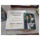 KING JAMES VERSION BIBLE CASSETTES QND NUMBERS