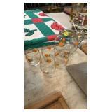 PITCHER & GLASSES