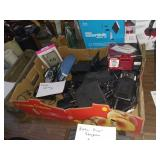 BOX OF CAMERA AND ELECTRONIC ITEMS