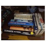 LOT OF MILITARY BOOKS