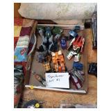 BOX OF TRANSFORMER TOYS