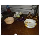 VARIOUS DECOR AND GLASSWARE