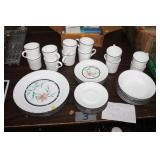 CORELLE TIGER LILY DISHES