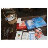 LOT OF MEDICAL MANUALS, MULTIPURPOSE BOTTLES
