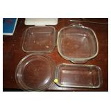 LOT OF BAKING DISHES