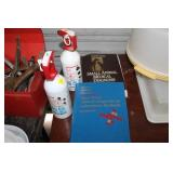 FIRE EXTINGUISHERS, SMALL ANIMAL BOOKS