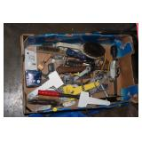 BOX OF TOOLS, MISC.