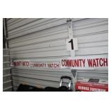 COMMUNITY WATCH MAGNETS