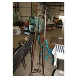 "METAL EASEL, 67"" TALL"