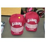 TWO NEW ALABAMA HATS