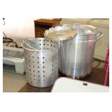 STAINLESS COOKING POT