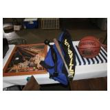 LOT OF SPORTS ITEMS
