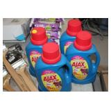 FOUR CONTAINERS OF AJAX DETERGENT