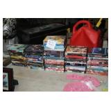 APPROX 80 DVDS