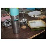 BAKING DISH,THERMOS & FOOD CHOPPER