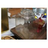GLASS PLANTERS STORE COUNTER JAR