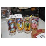 WIZARD OF OZ COLLECTOR GLASSES