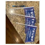 3 TRUMP RALLY FLAGS